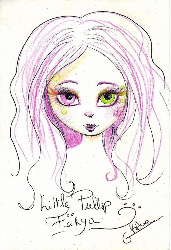 Petit  dessin pour Yume Dolls