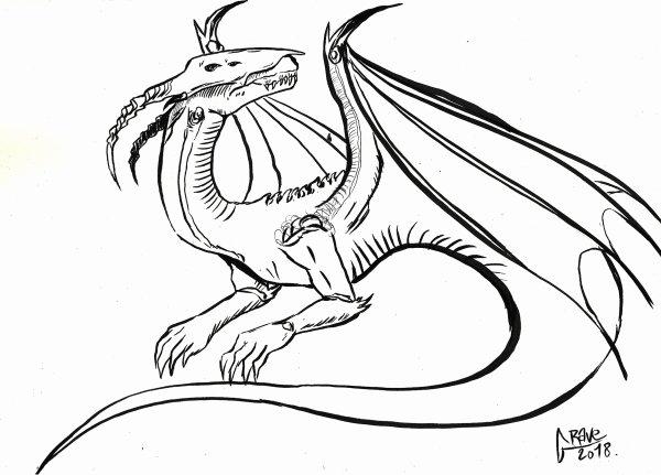 *Dessins* Dragon Galactique et autres dessins