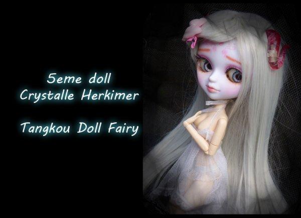 Crystalle Herkimer 5eme doll