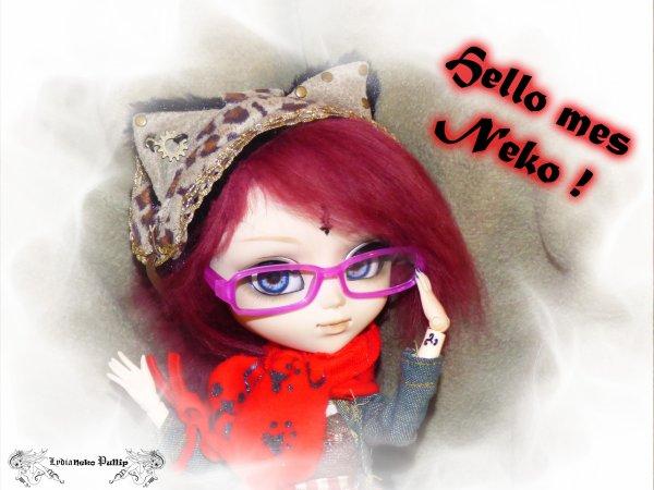Du nouveau mes Neko !
