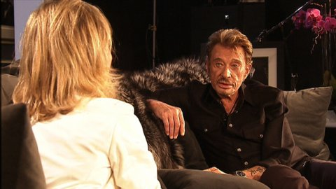 Interview exclusive de Johnny Hallyday dans le 20 heures