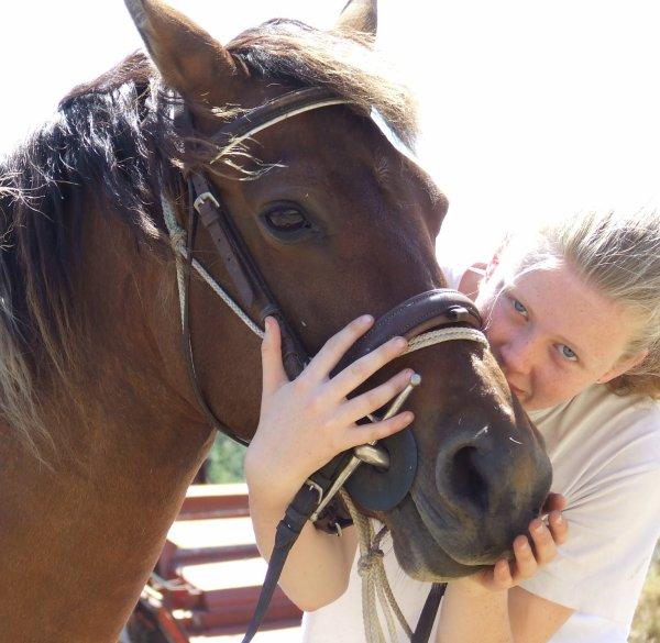 Le cheval t'apporte ce que l'être humain est incapable de te donner.