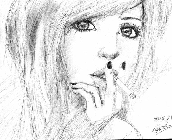 Portrait dessins mangas - Portrait dessin facile ...