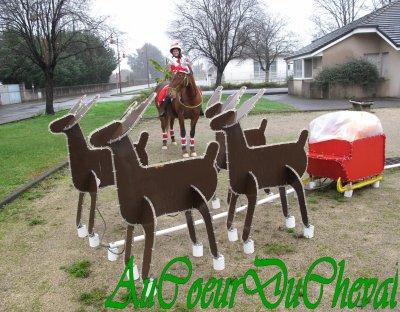 Défilé dans le Village pour Noël !!!!!