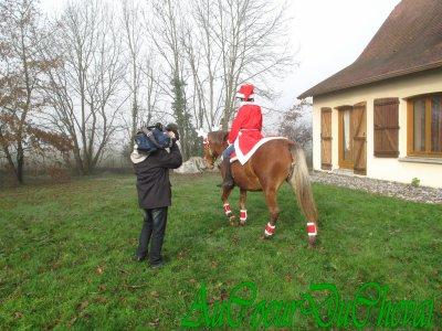 Je suis passée à la télé pour Noël 2011 !!!!