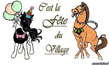 Fête du Village !!!!!!!!!! =D