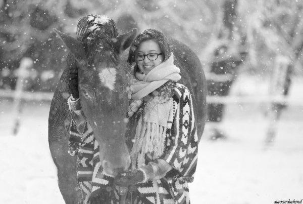 ❄️L'hivers s'installe doucement dans la nuit... La neige est reine à son tour !!!❄️