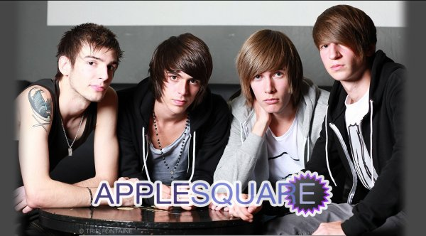 Apple Square, un groupe, une aventure, une histoire ... ♥