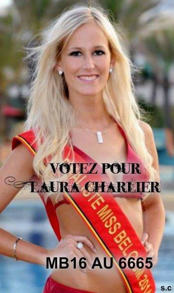 VOTE POUR ELLE A MISS BELGIQUE (MB16 AU 6665 )