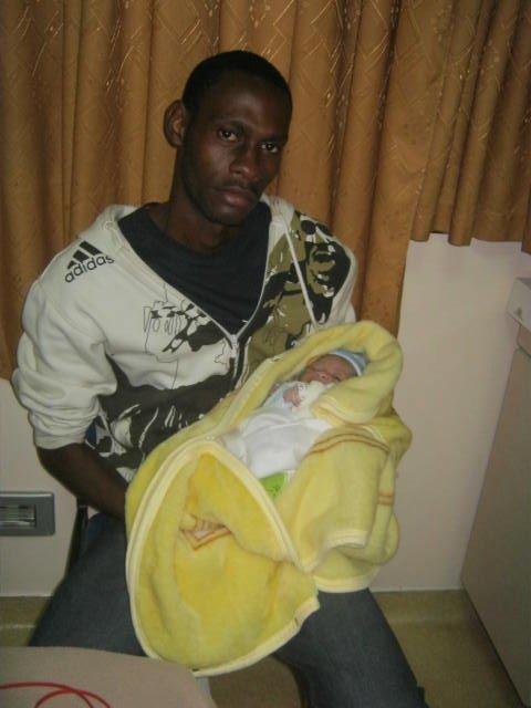 Djerick et son père