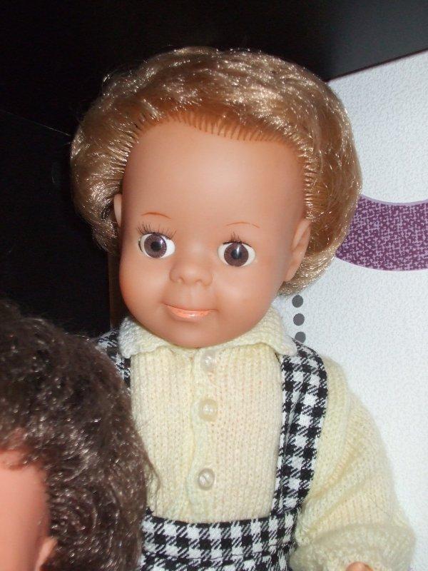 Quelques unes de mes poupées ...
