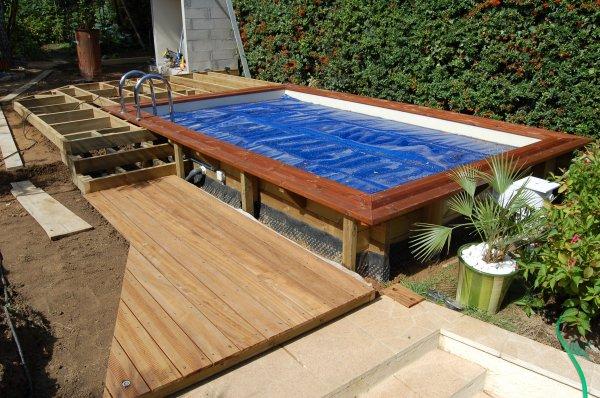 Blog de 2b lecorse page 8 ma piscine wood line classy for Piscine encastrable