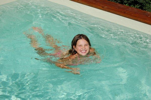 Ma grenouille dans l'eau