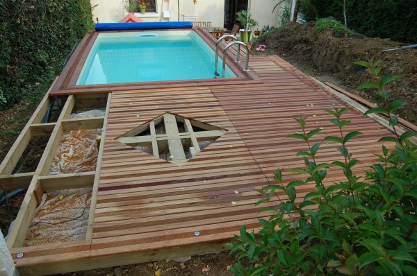 Blog de 2b lecorse page 8 ma piscine wood line classy for Idee petite terrasse