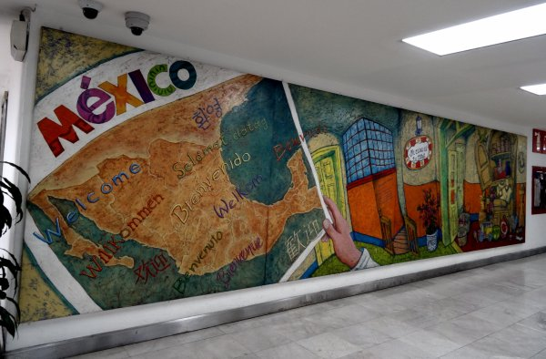 1er Jour - Vendredi 5 avril 2019  -  NICE/MEXICO