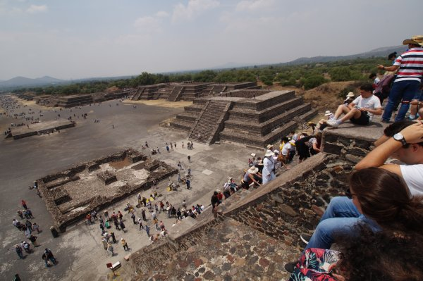 2ème jour  -  Samedi 6 avril 2019  -  MEXICO/TEOTIHUACAN/MEXICO