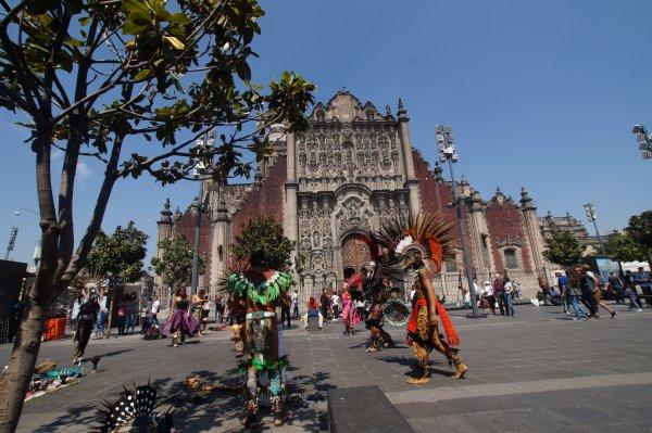 3ème jour  -  Dimanche 7 avril 2019  -  MEXICO/PUEBLA