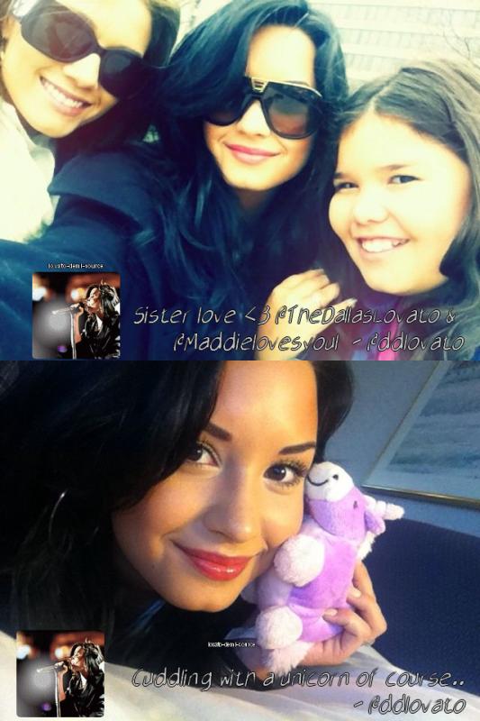 La belle Demi Lovato nous offres à nouveau un Twitter Time...