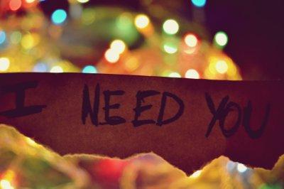I need you ♥
