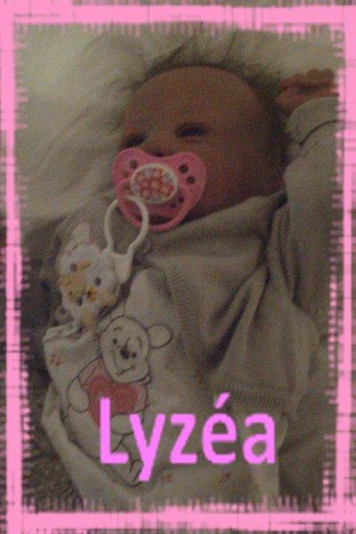 Mon bébé reborn LyzéA