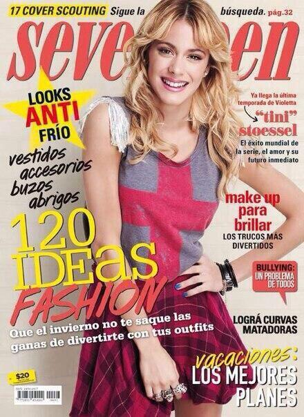 Tini fait la couverture de Seventeen !!