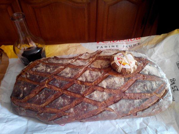 le pain le vin et le banon