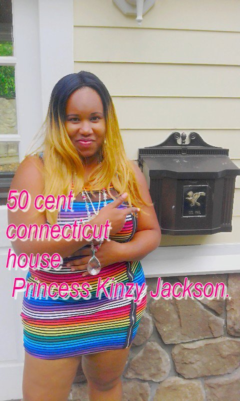 Princess Kinzy Jackson 50 cent connecticut Farmington house.
