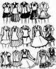 habille écolière