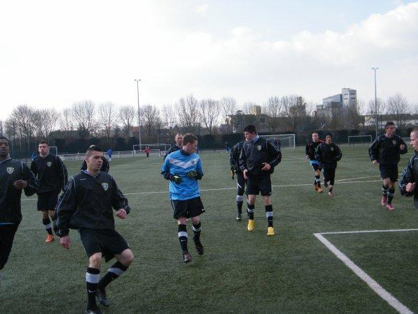 6ème Match du championnat FCD : CSA EPIDE DOULLENS - ASCAIR PARIS 21/02/13