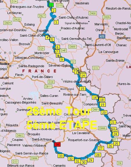 France en courant 2014: Etape 5