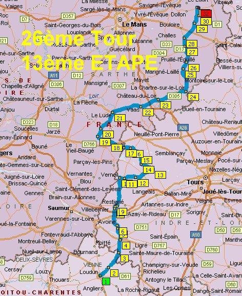 France en courant 2014: Etape 13