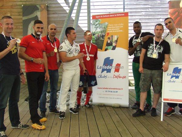 Challenge FCD de FOOT5   2014/2015  04 & 05 juin 2015 à Bourges