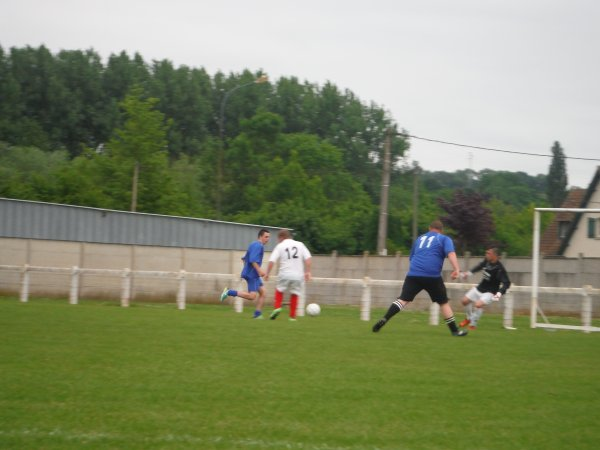 Match amical de foot à 7 contre la Société ALVENE de Doullens 02/06/15