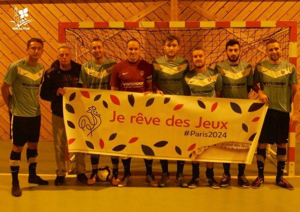 3ème Match de Championnat Futsal FFF Contre AS Club Amiens 2ème Divison Somme 02/11/15