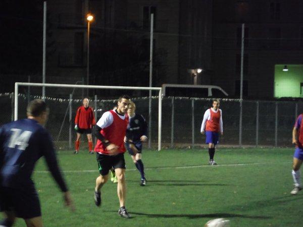 Match Amical contre les Pompiers d'Amiens 03/11/15