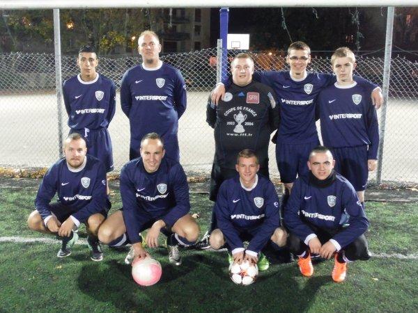 Match Amical contre les Pompiers d' Amiens 03/11/15