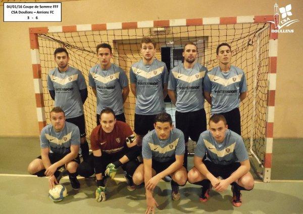 Coupe de Somme Futsal FFF: CSA Doullens - Amiens FC 04/01/16