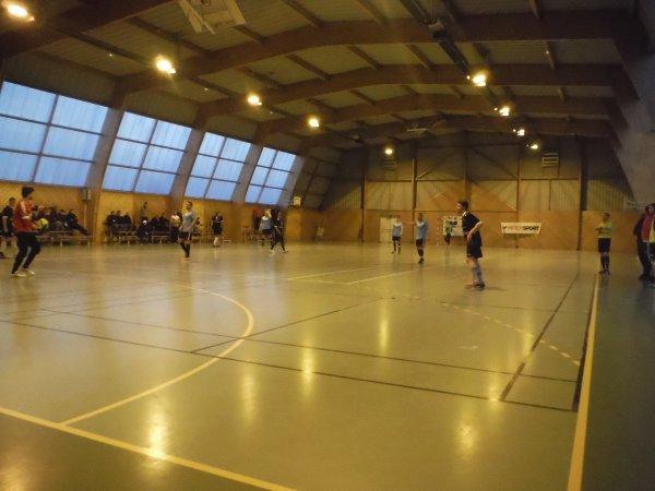 1/4 de finale de Coupe de Picaride Futsal: CSA Epide Doullens - Amiens Marivaux 04/04/16
