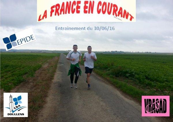Entraînement France en Courant 2016 le 30/06/16
