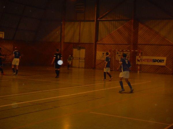 1er match de championnat Futsal 2ème Division: CSA Epide Doullens 2 - Flesselles 10/10/16
