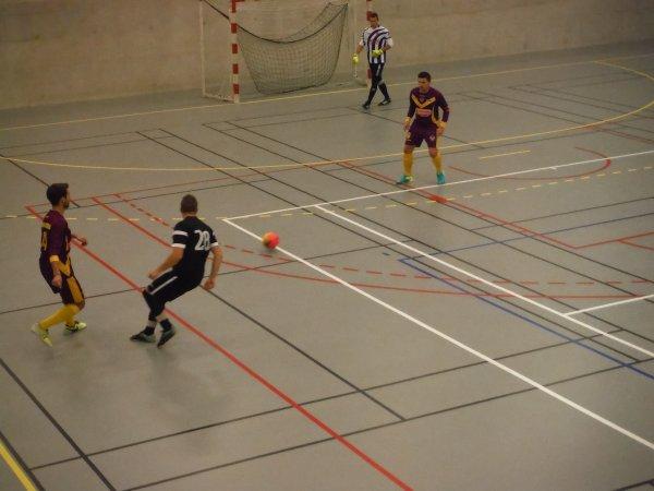 Match de Championnat Futsal 1ere Div: Ailly/ Noye - CSA Doullens 26/10/16