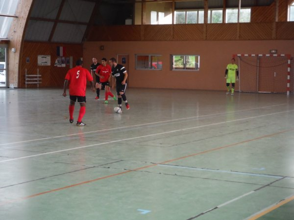 8ème de finale Championnat Futsal FCD: CSA Doullens - CSA Nogent le Rotrou 15/05/17