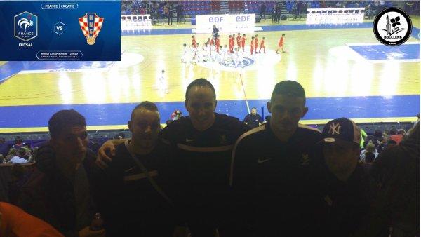 France - Croatie Futsal   Barrage Euro 2018 12/09/17