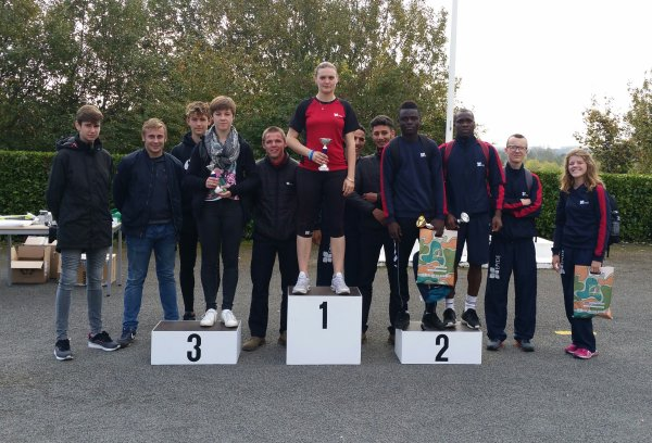 Cross Epide Doullens 19/10/17: Podium Equipes