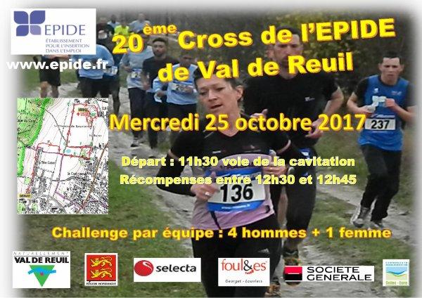 Cross Epide de Val de Reuil 25/10/17