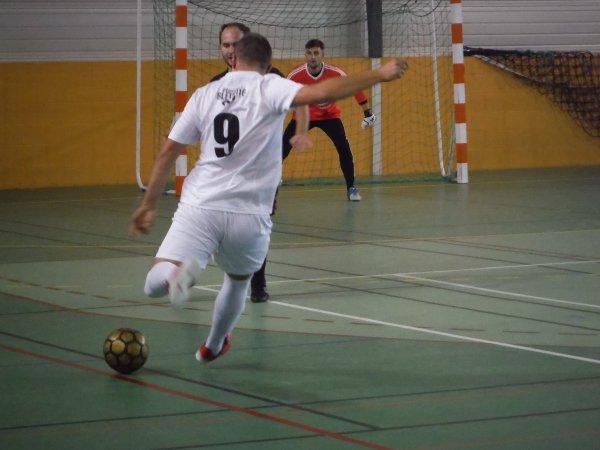 2ème Tour de Coupe de France Futsal: Cagny - CSA Doullens 24/10/17
