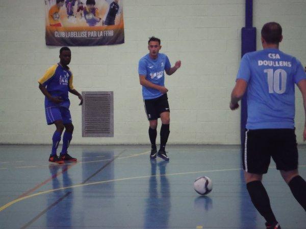 3ème Tour de Coupe Nationale Futsal: Csa Doullens - Pont Saint Maxence 18/11/17
