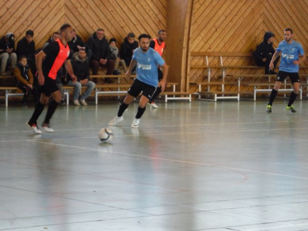 4ème Tour de Coupe Nationale Futsal: Csa Doullens - Libercourt 09/12/17
