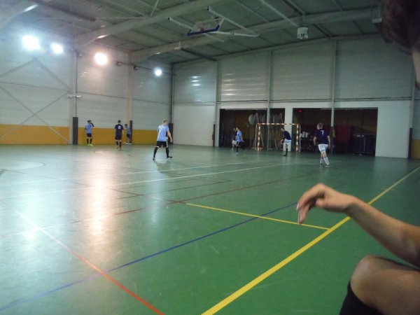 Match Amical Futsal Amiens Olympique - CSA Doullens 18/12/17
