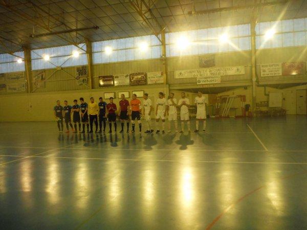 4ème Tour de Coupe de la Ligue Futsal: Cambronne - Csa Doullens 06/01/18